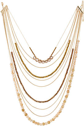 "Lydell NYC Multi-Strand Layered Long Necklace, 34""L"