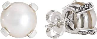 Stephen Dweck Sterling Silver and Gemstone StudEarrings