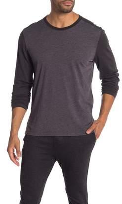 Agave Shoaling Long Sleeve Contrast T-Shirt