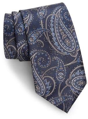 Brioni Paisley Silk Tie