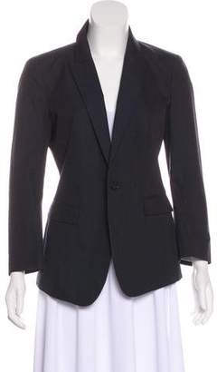 Band Of Outsiders Notch-Lapel Button-Up Blazer