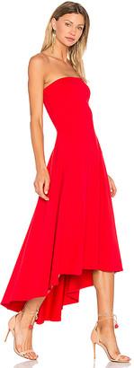 Susana Monaco Strapless Hi Low Dress