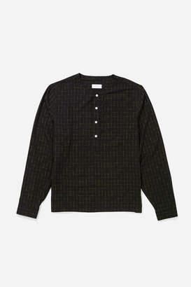 Saturdays NYC Pontus Kasuri Long Sleeve Shirt
