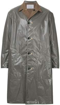 Kolor contrast metallic coat