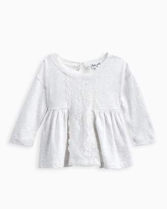 Baby Girl Lace Insert Top