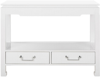 Safavieh Couture Corbell 2-Drawer Lacquer Console Table