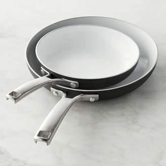 """Calphalon Classic Ceramic Nonstick Fry Pan Set, 8"""" & 10"""""""