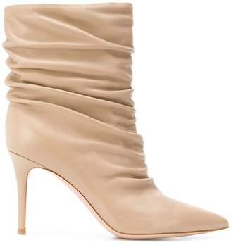Gianvito Rossi draped ankle boots