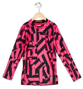 Nike Girls' Printed Knit Top