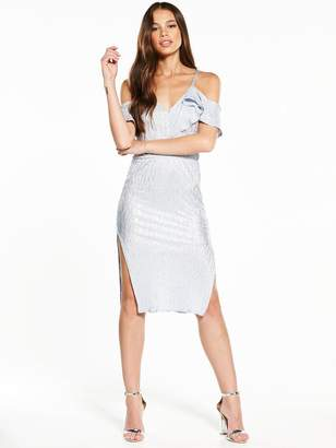 Rare Off The Shoulder Midi Dress