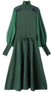 PAMEO POSE (パメオ ポーズ) - Mandarin Knit Dress