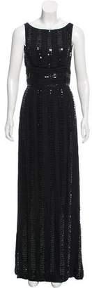 Naeem Khan Silk Embellished Dress w/ Tags