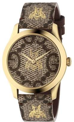 Gucci G-Timeless 38 mm watch