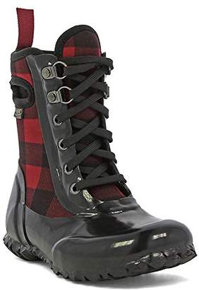 Bogs Sidney Lace B. Plaid Winter Snow Boot (Toddler/Little Kid/Big Kid)
