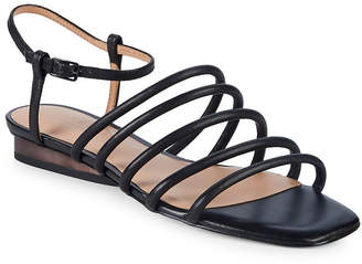 Halston Leandra Leather Sandal