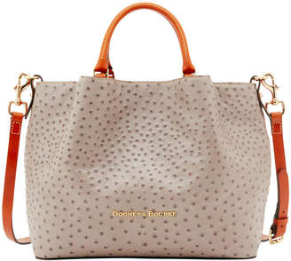 Dooney & Bourke Ostrich Large Barlow