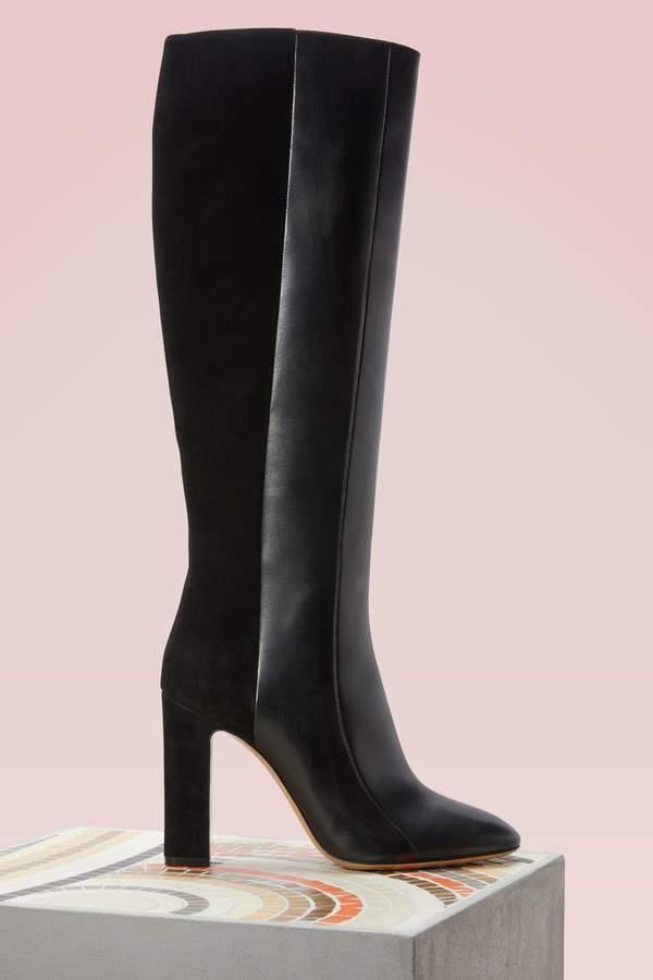 Salvatore Ferragamo Padova leather boots