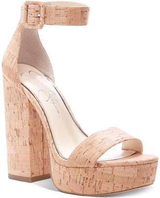 Jessica Simpson Caiya Platform Sandals Women Shoes