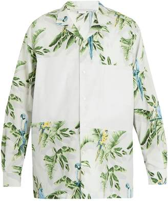 Stella McCartney Tropical-print cotton shirt