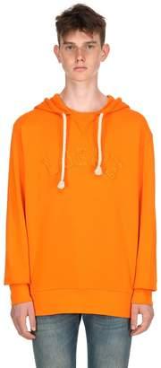 Loewe Logo Detail Cotton Sweatshirt Hoodie