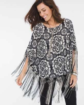 Chico's Power Emblem Poncho
