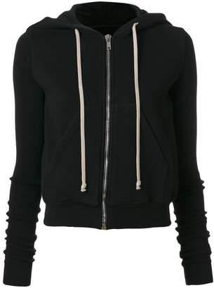 Rick Owens zipped hoodie