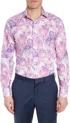Bonobos Slim Fit Floral Print Dress Shirt