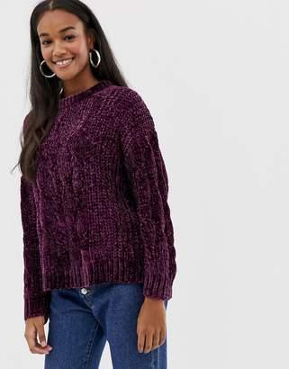Brave Soul indo sweater in chenille
