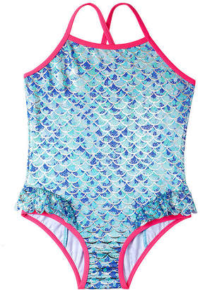 Pink Platinum One Piece Swimsuit Toddler Girls