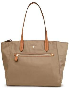 MICHAEL Michael Kors Leather-Trimmed Shell Tote