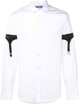Moschino shirt with sleeve harness