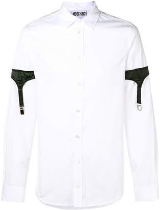 Moschino shirt with sleeve harness