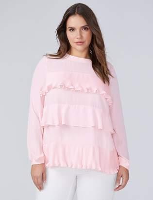 Lane Bryant Tiered Ruffle Sweatshirt