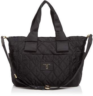 MARC JACOBS Knot Quilted Nylon Diaper Bag $325 thestylecure.com