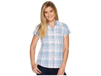Columbia Silver Ridgetm Multiplaid S/S Shirt Women's Short Sleeve Button Up