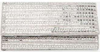 Dorothy Perkins Womens Silver Gem Embellished Clutch Bag