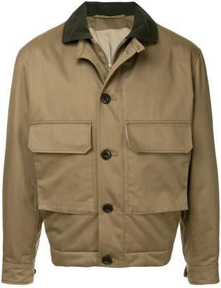 Lemaire flap pocket bomber jacket