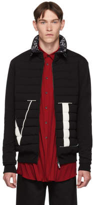 Valentino Black Logo Jacket