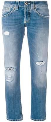 Dondup distressed boyfriend jeans