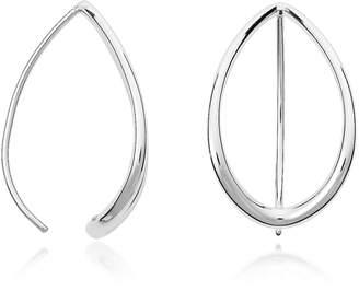 Fossil Teardrop Steel Earrings