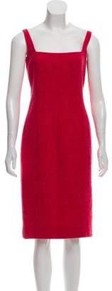 Zang Toi Wool Knee-Length Dress