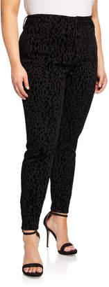 8dc344ff1e9 Rachel Roy Kamala Leopard Print Skinny Jeans