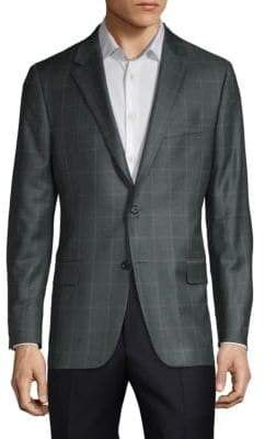 Hickey Freeman Milburn II Wool Sport Coat