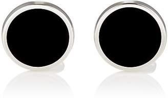 Barneys New York Men's Round Cufflinks - Black