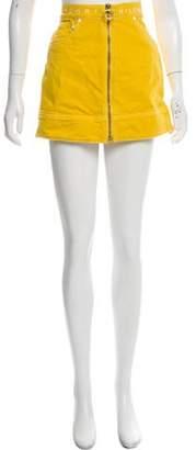 Tommy Hilfiger Zip-Up Mini Skirt w/ Tags