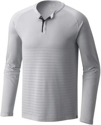 Mountain Hardwear MHW VNT Long-Sleeve Henley - Men's