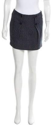 Armani Exchange Tweed Mini Skirt