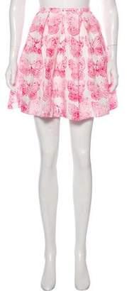 RED Valentino Printed Mini Skirt w/ Tags