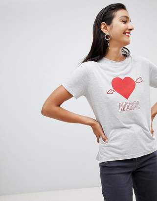 Whistles Merci heart t-shirt