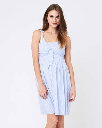 Ripe Maternity Sally Tie Front Nursing Dress